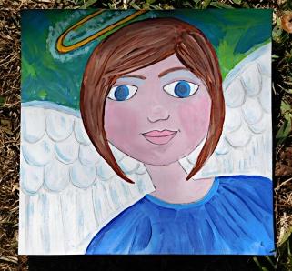 angel folk art 2017