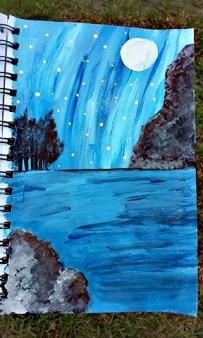 night-ocean